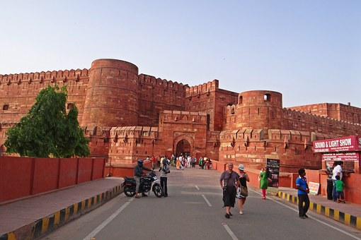 agra-fort-379667__340