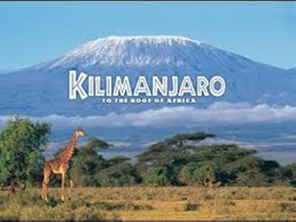 Let's Explore Mt. Kilimanjaro Climbing!