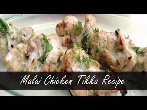 Best ever Murg Malai Tikka With Quikry Twist!