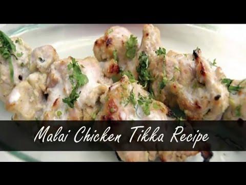 Best ever Murg Malai Tikka With Quikry Twist!