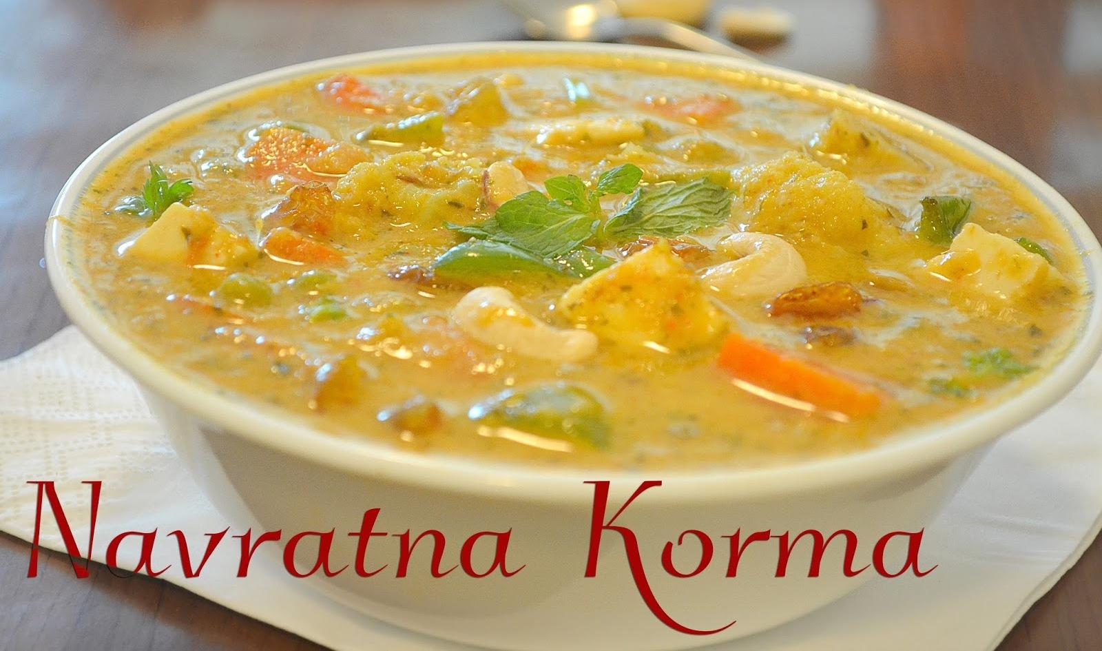 Navratan Korma